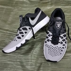 Oakland RAIDERS NIKE Train-Speed 4 Sneakers Shoes